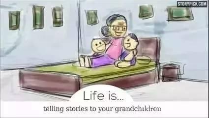 感动千万人的Facebook漫画告诉你,你与孩子的人生有何意义? - 从容 - 从容的博客
