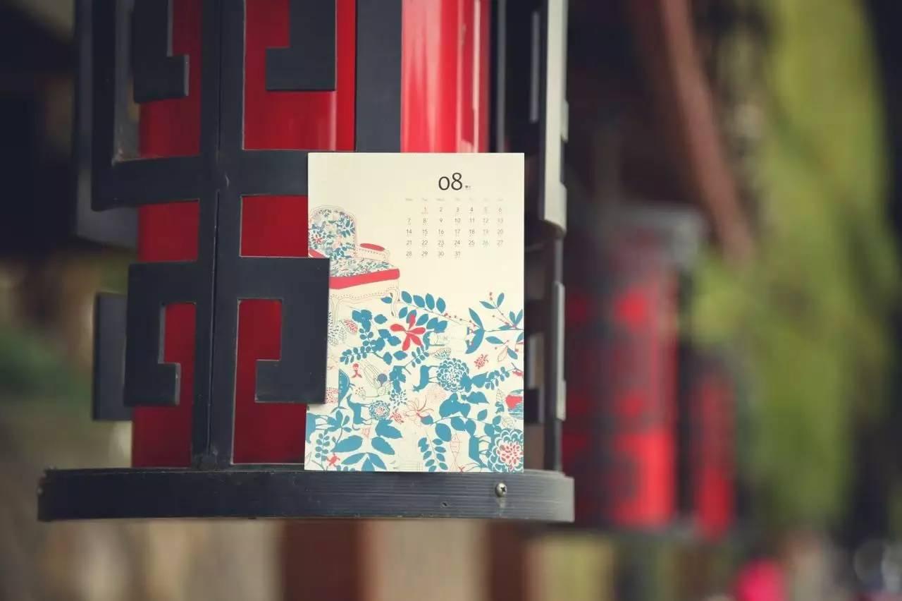 最最新鲜出炉的2017年历卡明信片,每个月一张,代表12个月的每一