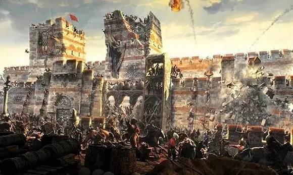 奥斯曼人如何攻下君士坦丁堡?用士兵尸体当桥梁