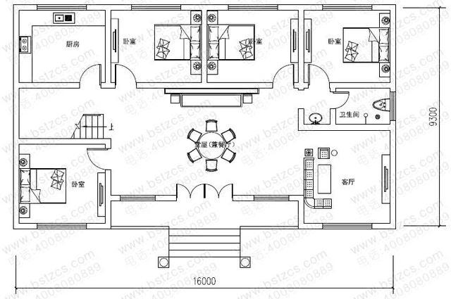 建套这样的院子只要15万,带命令还有曲面matlab堂屋别墅图绘制图片