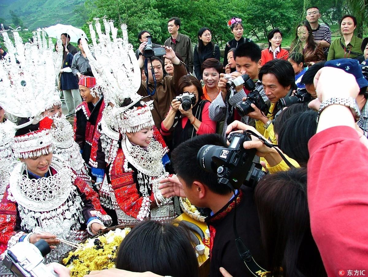 苗族人口的变化_贵州苗族人口分布图(3)