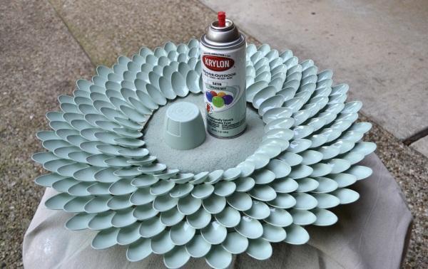 只是给塑料勺涂上颜料,老婆竟以为是买来的装饰镜