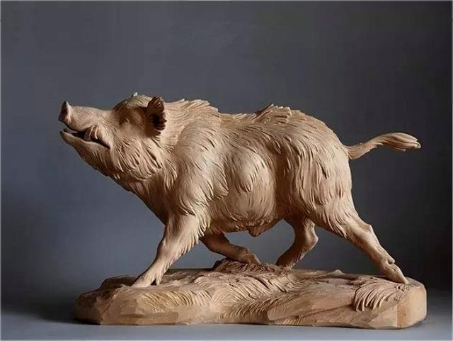 精美动物根雕工艺品鉴赏