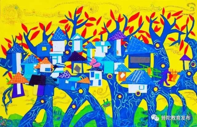 徐毓柽,沈家门小学,获得第29届全国青少年科技创新大赛少儿科幻画二图片