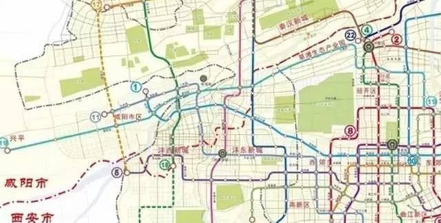 安的未来交通,最新规划图出炉 工程人有活干