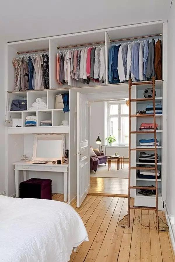 40款不同的衣柜内部结构图,看看你适合哪种!