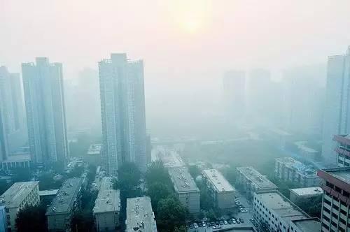 """京津冀及周边城市深陷""""霾伏"""" 6省市强化应急措施"""""""