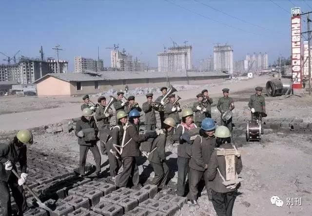 1980年代,朝鲜社会风貌老照片