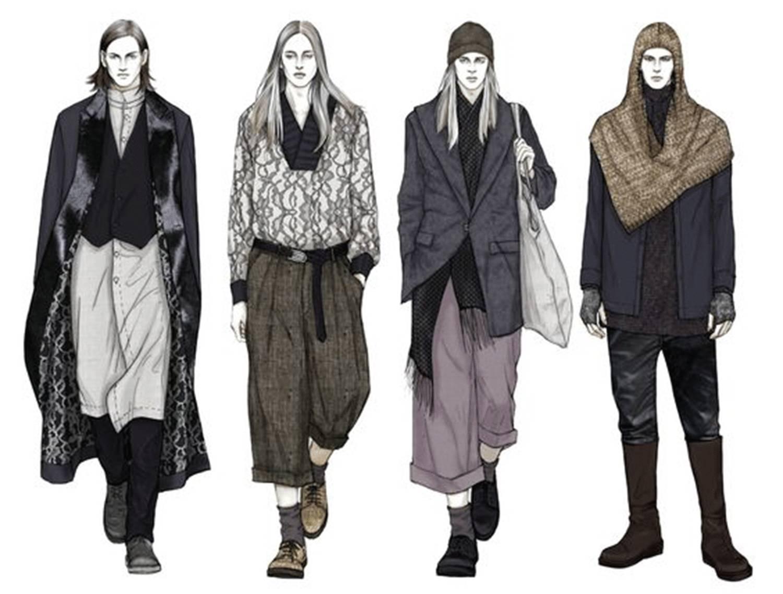 Mens Fashion Sketches Tumblr