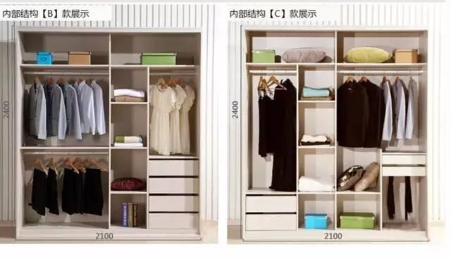40款不同的衣柜内部结构图,看看你适合哪种