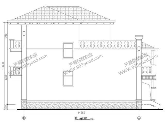 农村别墅设计图,有旋转楼梯才大气!含预算
