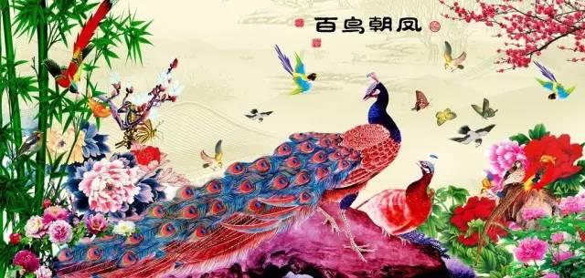 什么鸟朝凤成语_成语故事图片