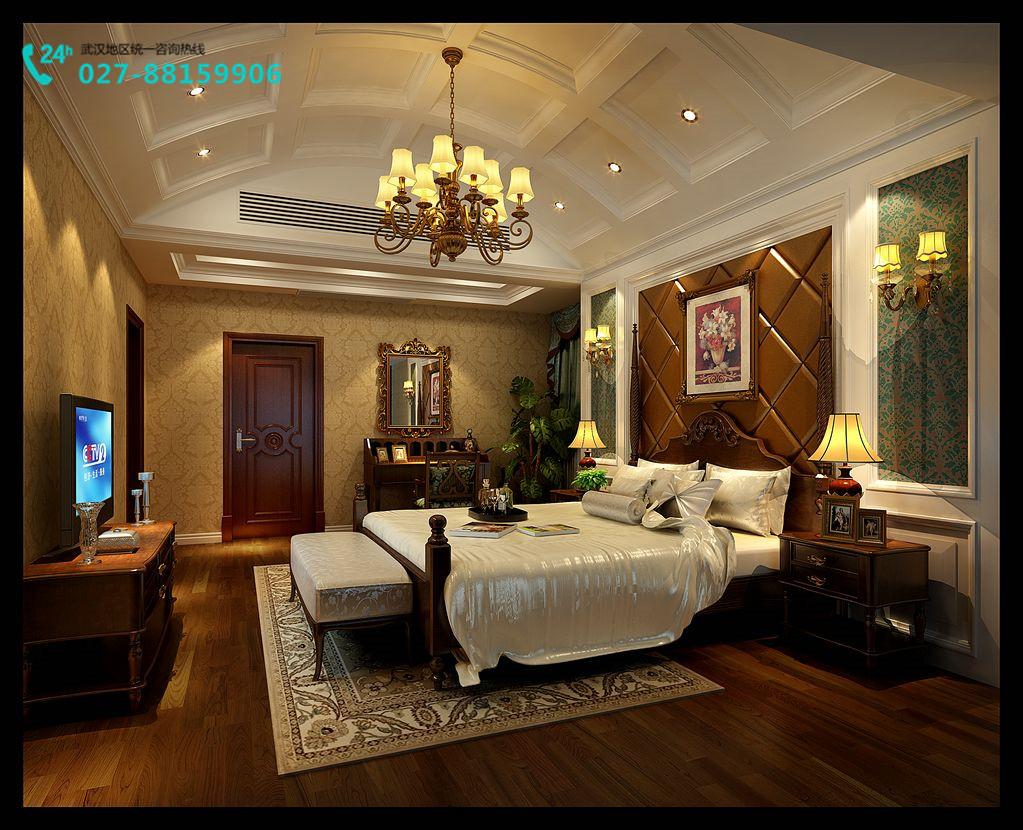 复地东湖热点别墅美式案例装修设计别墅文软国际风格炒作图片