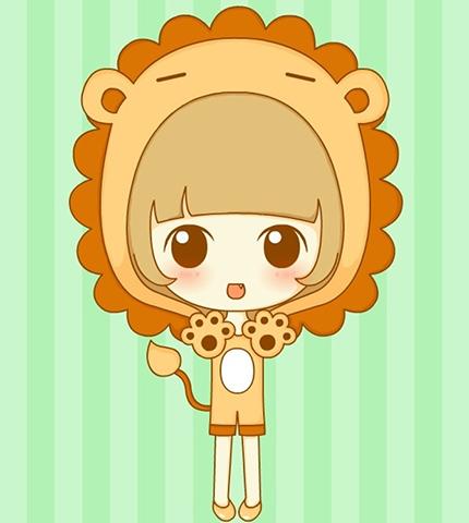 测了么命理网水瓶介绍之狮子座星座的女生兔性格座优缺点图片