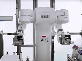 """机器人也要配备办公室!电机生物医学机器人。"""""""