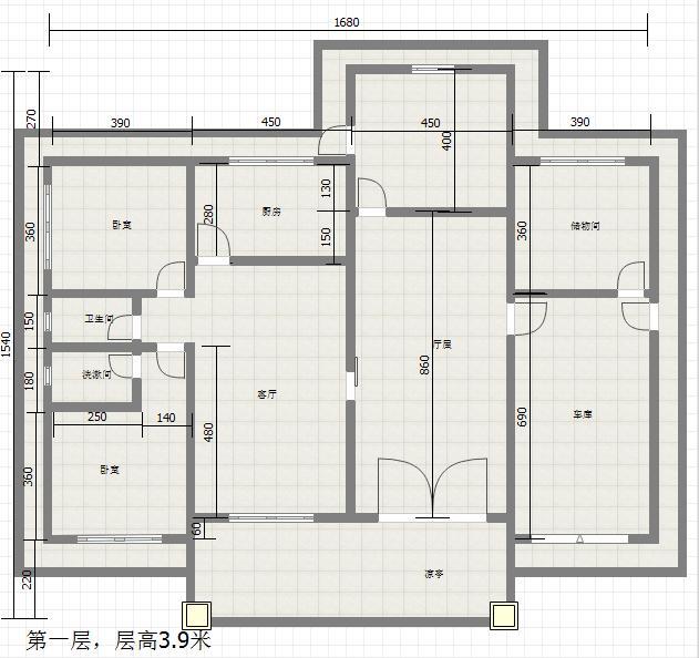 农村别墅设计图,户型方正超实用!含预算