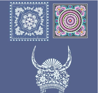 一朵花中奇葩 苗族服饰图片