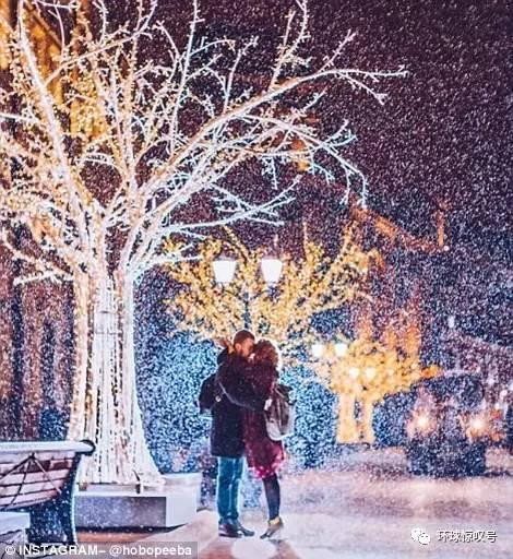 现实版冰雪童话世界!俄罗斯女摄影师拍寒夜莫斯科,梦幻唯美!