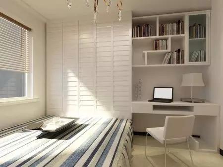 省空间榻榻米设计,最新现代榻榻米卧室装修效果图图片