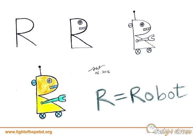 让字母秒变小动物 超萌又实用的字母简笔画教程