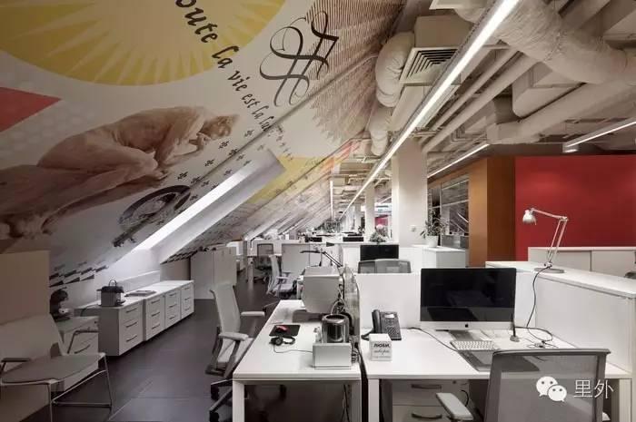 莫斯科广告公司创意办公室设计
