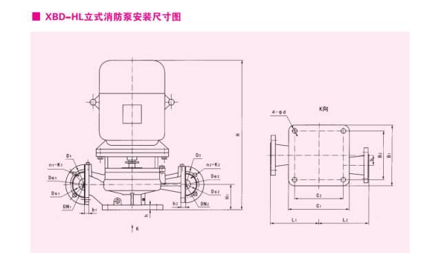 xbd-hy系列卧式恒压消防泵图片