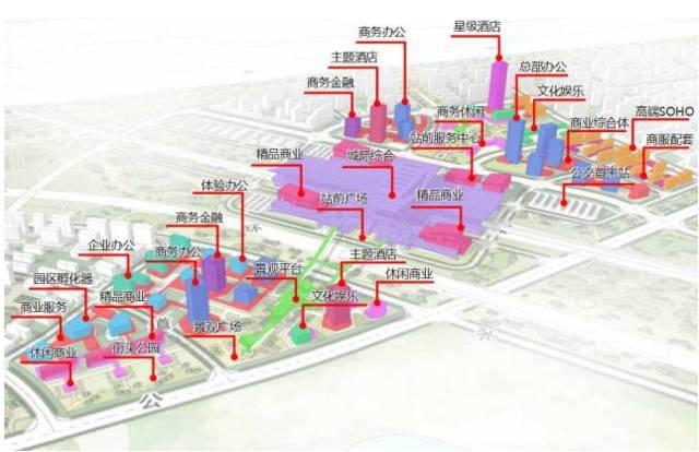 安顺市北部新区规划图