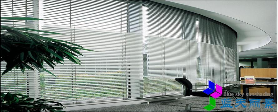 室内电动遮阳百叶产品的性能与应用