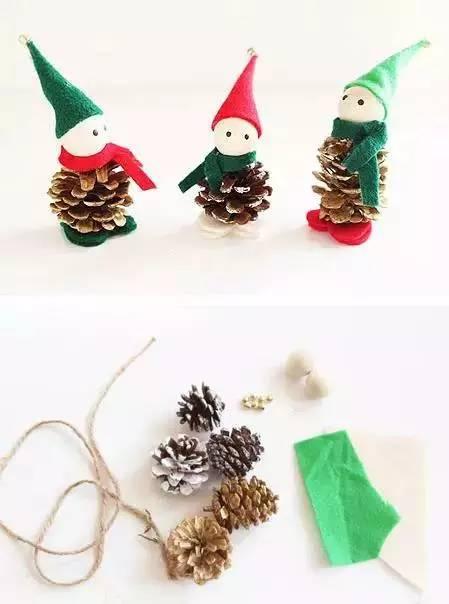 各种圣诞创意小手工,和宝宝一起做漂亮的圣诞装饰图片