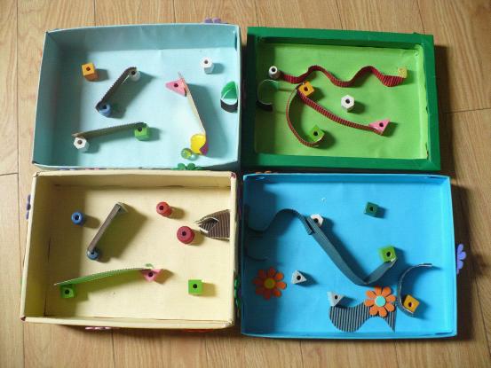幼儿园自制创意玩教具