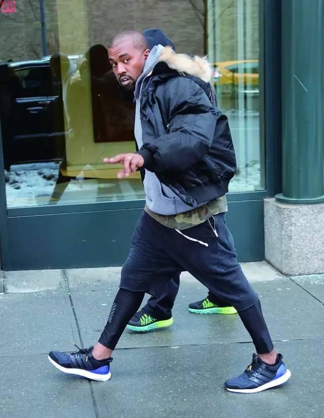 够不够酷 如果没有Boost,Kanye West也帮不了阿迪达斯