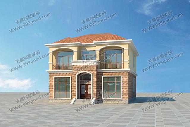 3套农村自建小户型别墅设计图,造价不过20万?