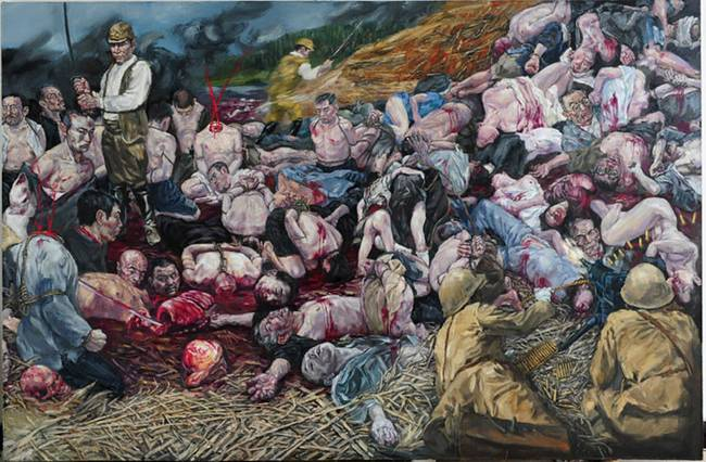 艺术家笔下的南京大屠杀