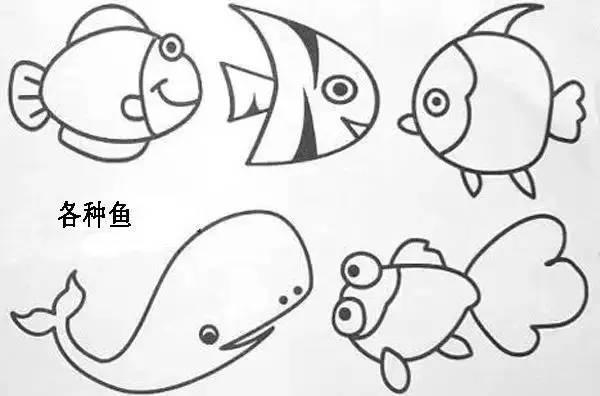 动物简笔画   简笔画合集