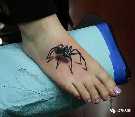 纹身素材:蜘蛛