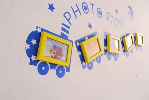 """临近期末,幼儿的成长萌照可以这样设计成照片墙!"""""""