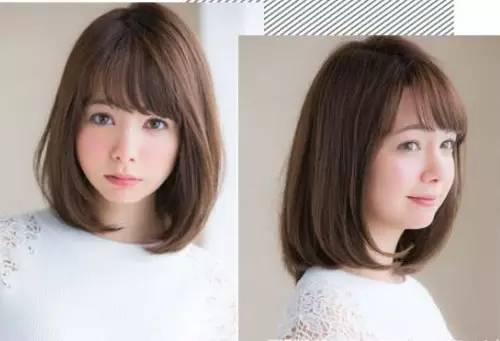 头发少的女生适合什么发型?蓬松烫发最适合你!图片