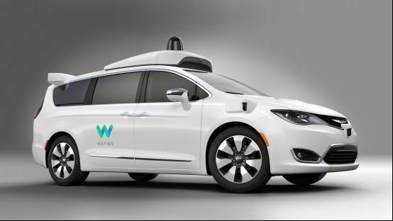 "Waymo无人车新款测试车型选定为克莱斯勒minivans"""