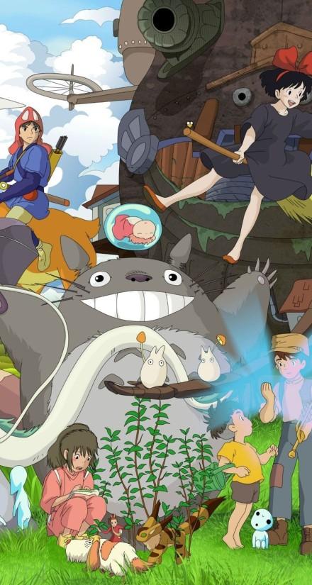 宫崎骏动画壁纸 喜欢点赞图片