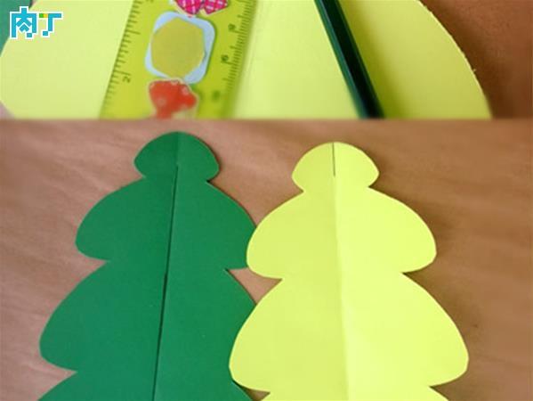 十种手工圣诞树,超简单的,和孩子玩起来吧