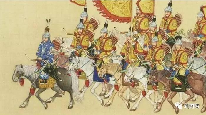 八旗兵骑射尽废 从马背跌落的 北方狼族