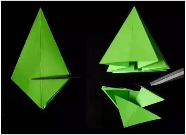 今天就为大家提供一些美丽的雪花和圣诞树的折纸剪纸教程哦!