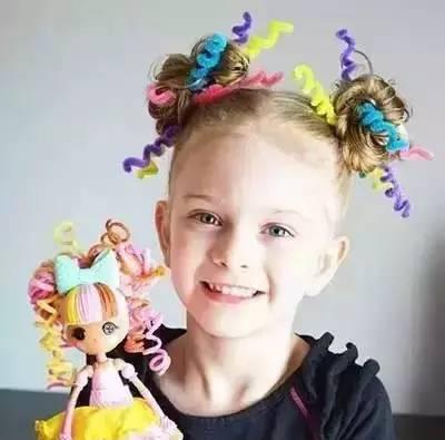 幼儿表演节目的发型,最有节日气氛的都在这里了!| 巧手教育