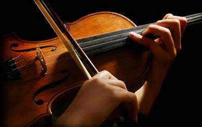 小提琴运弓走直几个要点图片