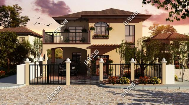 很多南方村庄建的农村别墅都非常高大豪华,比如福清莆田等附近农村,城