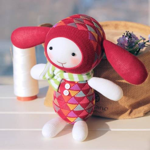 【diy俱乐部活动】不一样的圣诞玩袜——袜子娃娃diy!
