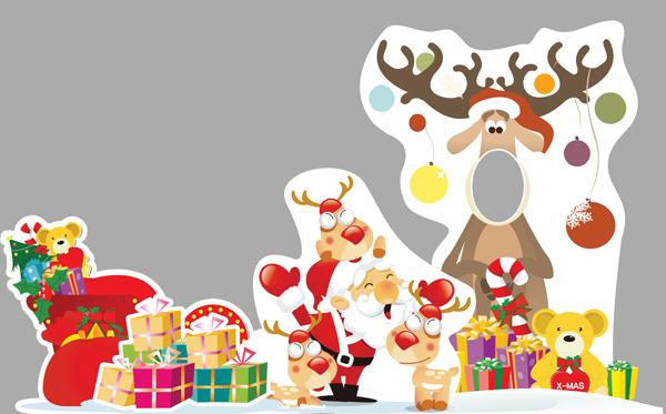 圣诞服装效果手绘图