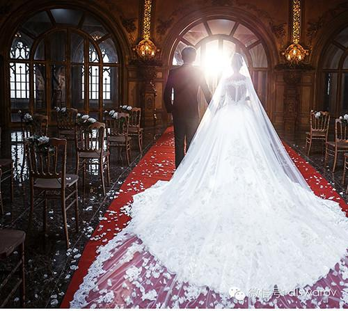 新娘头纱款式选择参考指南图片