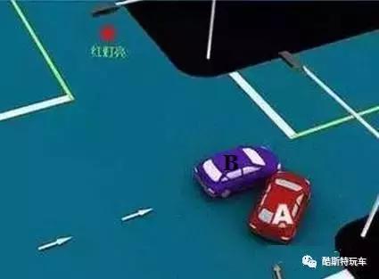 红灯正亮,右转弯a车未让正在直行的b车先行,a车负事故所有责任.