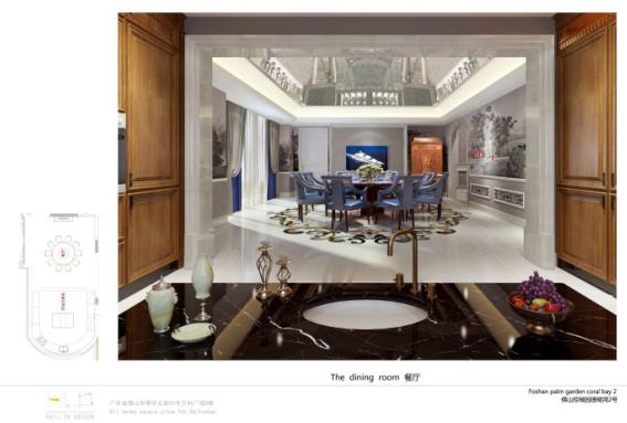本案为loft别墅空间,运用新古典设计风格